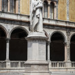 Dante statue in Verona — Stock Photo
