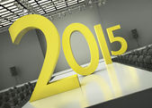 Year 2015 concept — Stock Photo