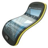 Flexible smartphone — Stock Photo