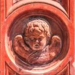 Постер, плакат: Ornaments with cherub