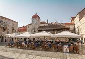 Town square in Trogir — Foto de Stock