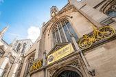 Tour De France decorations in York, UK — Stock Photo