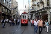 Taksim Istiklal Street — Stock Photo