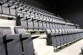 Black seats — Stock Photo
