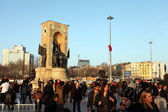 Taksim Republic Monument — Stock Photo