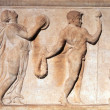 Ancient bas-relief - Stock Photo