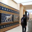 Interior view of Istanbul Archeology Museum — Stock Photo #22790770