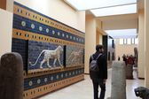 Interior view of Istanbul Archeology Museum — Stock Photo