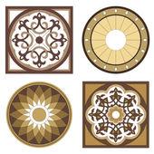 Vignettes mosaic — Stock Vector