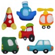 Stock Photo: Felt toys vehicles