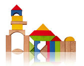 Montessori toys — Stock Photo