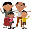 Stock Photo: Indifamily