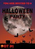 Halloween Invite — Stock Photo