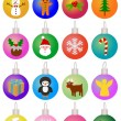 Christmas Baubles — Stock Photo #17350811