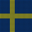 Abstract Sweden Flag - Stockfoto