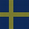 Abstract Sweden Flag - Stock fotografie