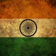 Grunge India Flag - Stockfoto