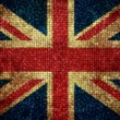 Bling UK Flag — Foto Stock
