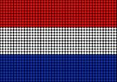 Abstract Holland Flag — Stock Photo