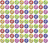 бинго шары — Стоковое фото