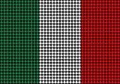 Abstract Italy Flag — Stock Photo