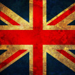 Grunge UK Flag — Stockfoto