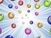 Bingo starburst — Stock Photo