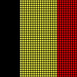 Abstract Belgium Flag - Stock Photo