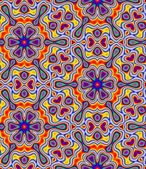 Psychedelic Seamless Pattern — Stock Photo
