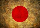 Grunge Japan Flag — Stock Photo
