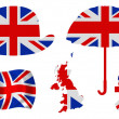 Great Britain Icons - Stock Photo
