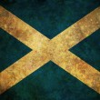Grunge Scotland Flag — Stock Photo