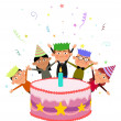 Birthday Cake — Stockfoto