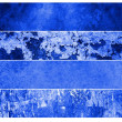 Blue grunge backgrounds — Stock fotografie