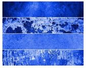 Blue grunge backgrounds — Stock Photo