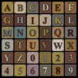 Wooden Block Alphabet — Stock Photo #21949711