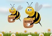 Busy Bees — Foto Stock