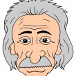 Постер, плакат: Einstein head