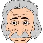 Постер, плакат: Einstein head