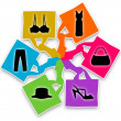 Shopping Bags Design — Stock Photo