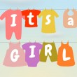 Its a Girl — Stock Photo