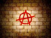 Anarchy symbol — Stock Photo