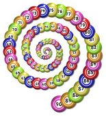 Bingo Spiral — Stock Photo