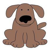 Dog illustration — Stock Photo