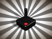 Retro games controller — Stock Photo