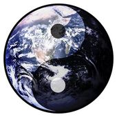 Yin Yang Earth — Stock Photo