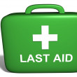 Last aid kit — Stock Photo
