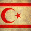 Grunge Northern Cyprus Flag — Stock Photo
