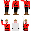 Mountie - Foto de Stock