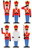 Soldado de brinquedo — Foto Stock